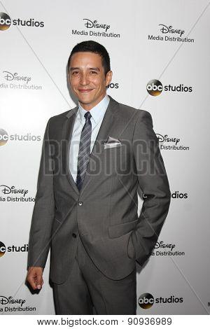 LOS ANGELES - MAY 17:  Gabriel Luna at the ABC International Upfronts 2015 at the Disney Studios on May 17, 2015 in Burbank, CA