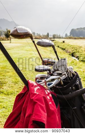 Golf Clubs Set Detail