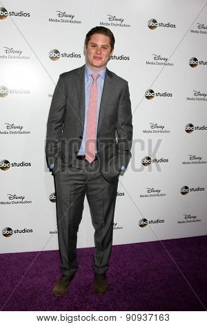 LOS ANGELES - MAY 17:  Matt Shively at the ABC International Upfronts 2015 at the Disney Studios on May 17, 2015 in Burbank, CA