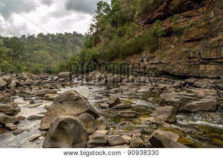 Mitchell River In Gippsland, Victoria, Australia