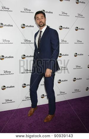 LOS ANGELES - MAY 17:  Brett Dalton at the ABC International Upfronts 2015 at the Disney Studios on May 17, 2015 in Burbank, CA
