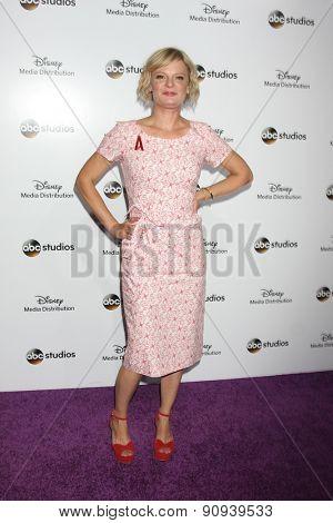LOS ANGELES - MAY 17:  Martha Plimpton at the ABC International Upfronts 2015 at the Disney Studios on May 17, 2015 in Burbank, CA