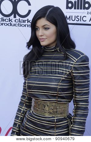 LAS VEGAS - MAY 17:  Kylie Jenner at the Billboard Music Awards 2015 at the MGM Garden Arena on May 17, 2015 in Las Vegas, NV