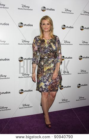 LOS ANGELES - MAY 17:  Bonnie Sommerville at the ABC International Upfronts 2015 at the Disney Studios on May 17, 2015 in Burbank, CA