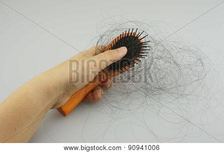 Lot Of  Hair Fall Out After Combing Hair