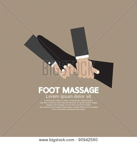 Foot Massage Relaxing.