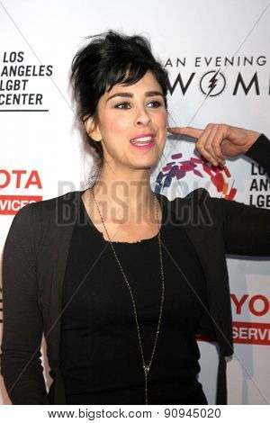 LOS ANGELES - MAY 16:  Sarah Silverman at the
