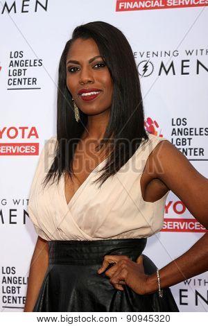 LOS ANGELES - MAY 16:  Omarosa Manigault at the