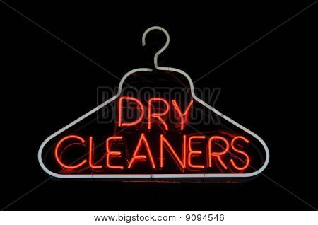 Dry Cleaner Hanger Sign