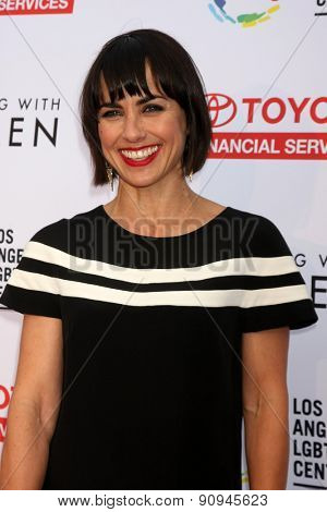 LOS ANGELES - MAY 16:  Constance ZImmer at the