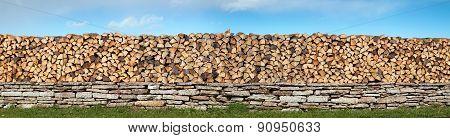 firewood panorama