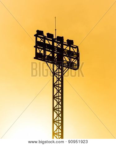 Spotlight pole