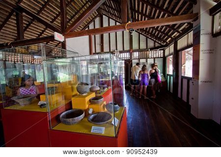 Agua Blanca Museum in Machalilla National Park, Ecuador