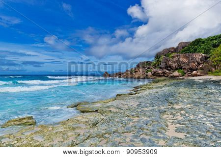 Grand anse, La Digue island