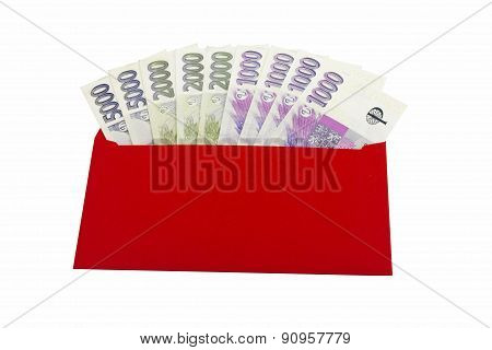 Czech curency, Red Envelope