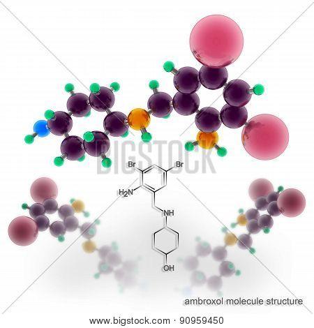 Ambroxol Molecule Structure