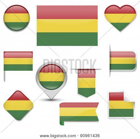 Bolivia Flag Collection