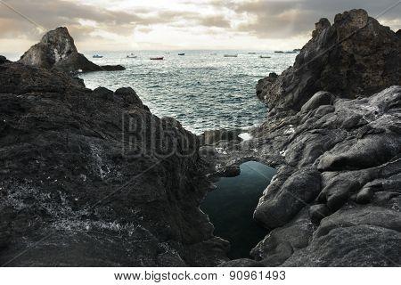 Beautiful View Of Ocean