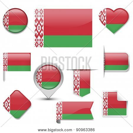 Belarus Flag Collection