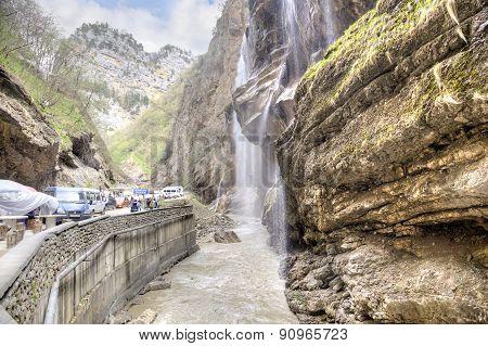 Chegem Waterfalls
