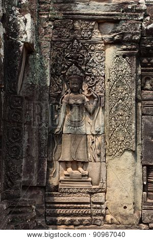Bayon Temple in Angkor, Siem Reap, Cambodia