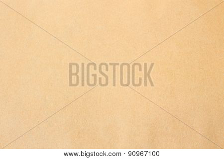 Sheet Of Clean And Clear Brown Paper