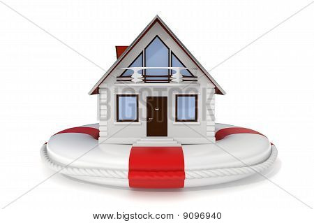 House Insurance - Lifebuoy - Icon