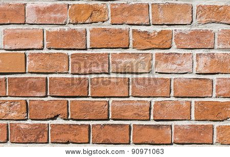 Old Historic Brick Wall Im Harmonic Structure