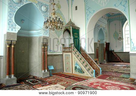 The Interior Of The Jumah Mosque In Tbilisi, Georgia