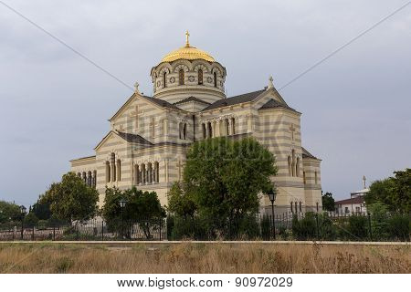 Vladimir Cathedral In Chersonese Taurian