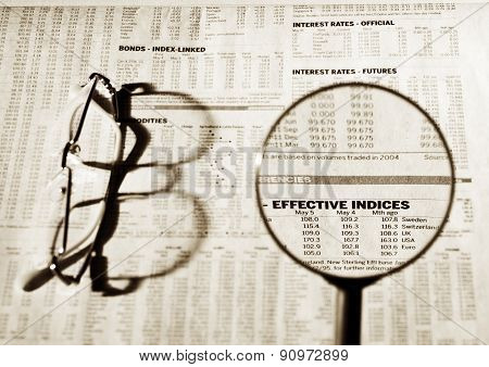 Effective Indices Financial Data