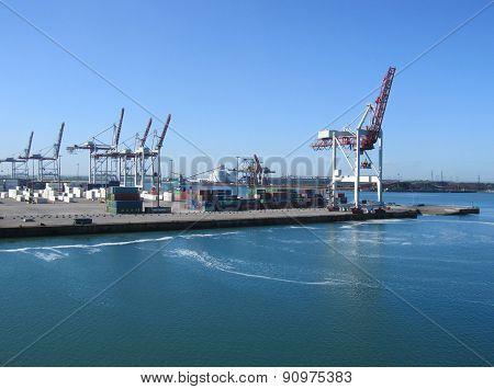 Port of Dunkerque, France