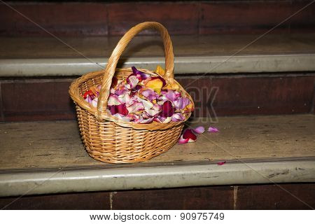 Basket Full Of Petals