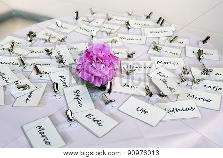 Bunch Of Nametags