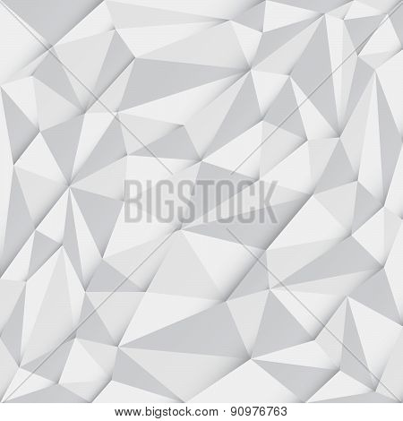 Polygonal (low poly) Abstract Mosaic Background, Vector illustration, Business Design Template