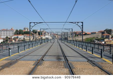 Don Luis Bridge In Porto