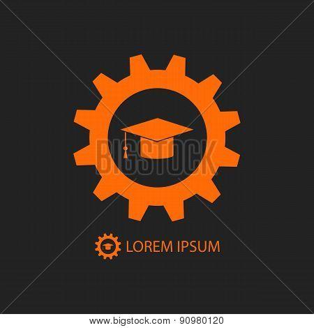 Orange engineering education logo