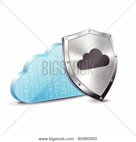 Binary cloud and metal protection shield