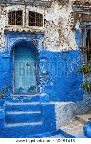Chefchaouen, blue and white city.