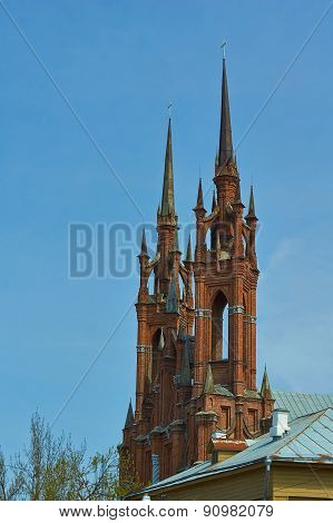 Towers Of The Old Church.
