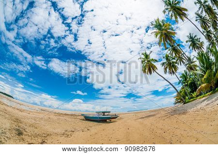 Boat At The Seashore