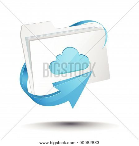 Cloud computing folder