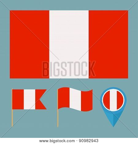 Peru,country flag