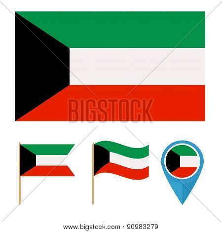 Kuwait,country flag