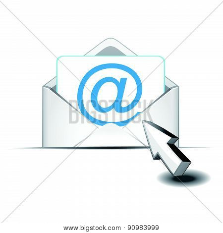 Click email