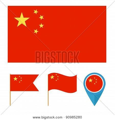 China, country flag