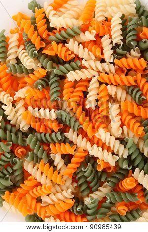 Dry colour Pasta