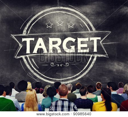 Target Marketing Targeting Mission Goal Concept