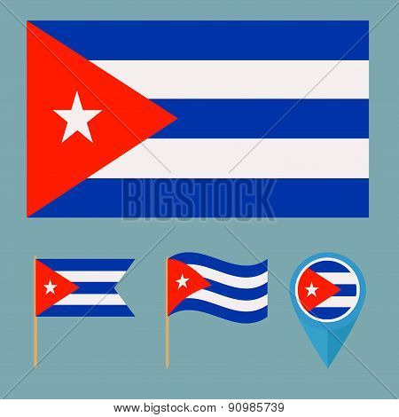 Cuba,country flag