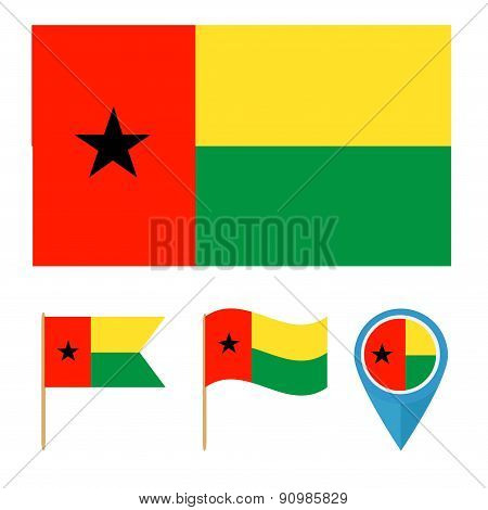 Guinea-Bissau,country flag